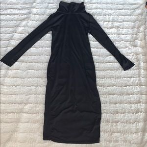 Spandex midi dress